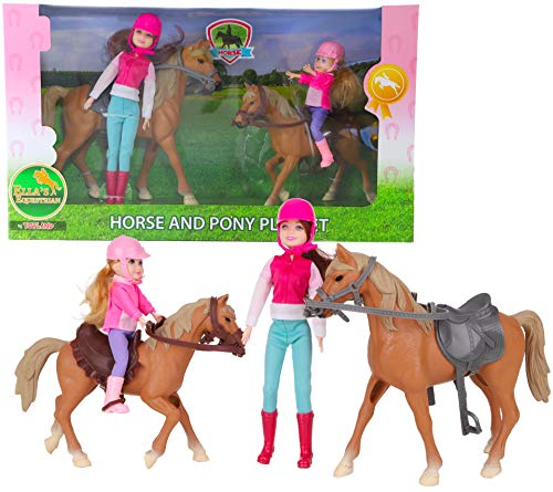 Toyland® Ella's Equestrian Mother & Daughter Horse And Pony Playset - Equestrian Toys