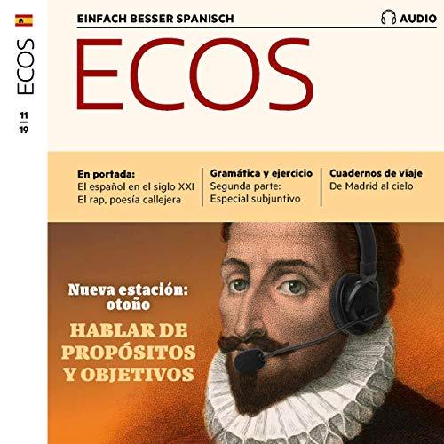 『ECOS Audio - Hablar de propósitois y objetivos. 11/2019』のカバーアート