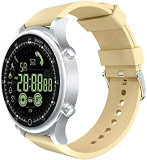 XNNDD Reloj Inteligente Deportivo Hombres y Mujeres Gimnasio Reloj Deportivo Batería Larga Información de Llamada Recordatorio Temporización Profesional Impermeable