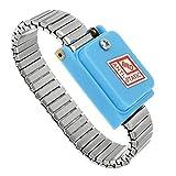 Ri Sheng Jian Zhu Inalámbrico inalámbrico Ajustable estático Anti Pulsera electroestática ESD Cable de Descarga Correa de muñeca Correa de Mano Suministros y aparatos de soldar
