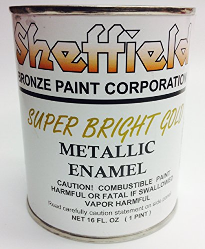 Sheffield 4740 Pt Super Brite Gold Enamel Exterior Metallic