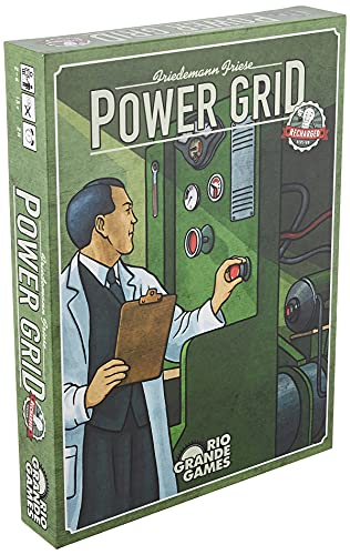 Rio Grande Games Power Grid Recharged Only $33.31 (Retail $44.95)