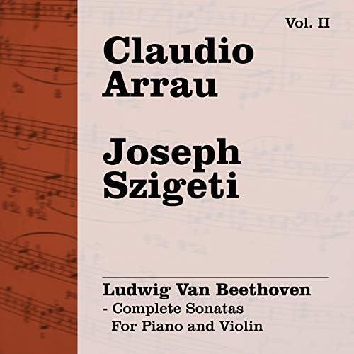 Claudio Arrau & Joseph Szigeti