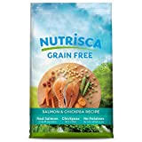 NUTRISCA Potato-Free Dry Dog Food for All Life Stages, Salmon Recipe, 15 lb.