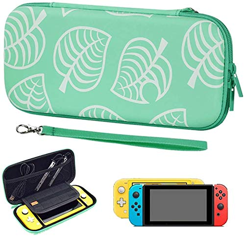 OFOCASE Carry Case for Switch, Slim Protective Case for Switch with 10 Game Card Slots, Portable Shockproof PU Hard Cover Storage Bag Travel Case for Switch & Accessories (for Switch)