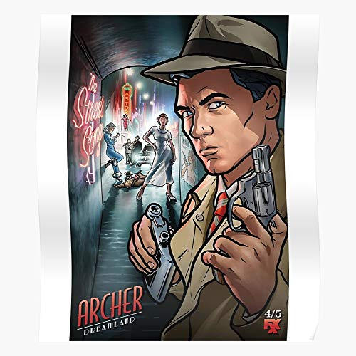 Mallory Krieger Dreamland Sterling Archer Carol Vice Pam I Fsgteam- Impressive and Trendy Poster Print decor Wall or Desk Mount Options