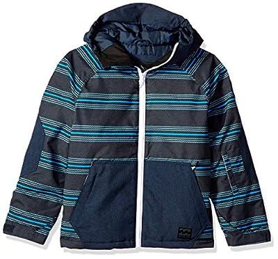 Billabong Boys' All Day Outerwear Jacket Cali Blue Small
