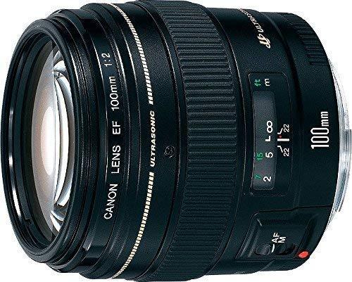 Canon EF 100 mm f/2 USM Teleobjektiv für Canon EOS 2518A003 (zertifiziert generalüberholt)