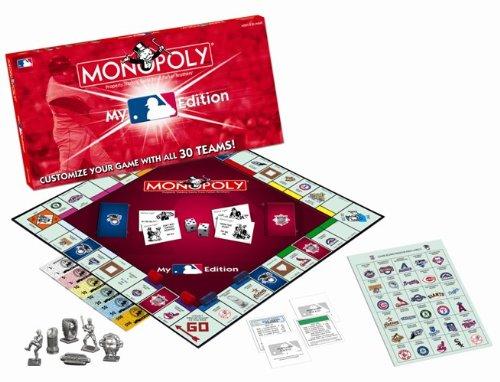 My Major League Baseball Edition Juego de monopolio