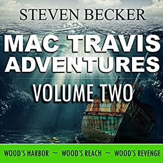 Mac Travis Adventures Box Set (Books 4-6) audiobook cover art