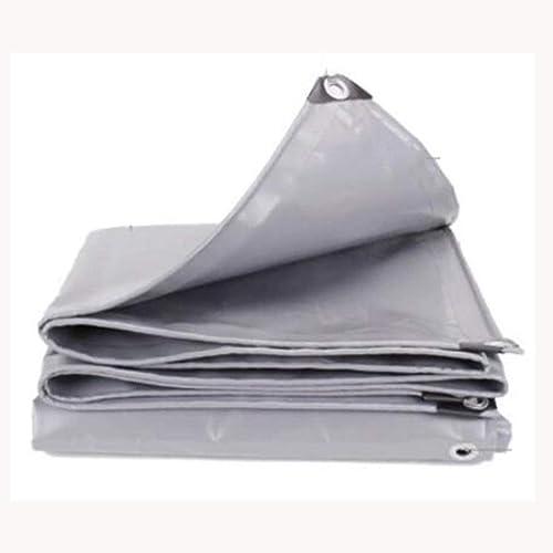 LYZP Couteau gris épais Grattant La Bache en Tissu Toile Imperméable Toile De Parasol Imperméable Toile De Store Oxford Toile De Tente 600g   M2 (Taille   4  4m)