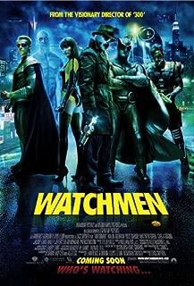 watchmen original movie poster
