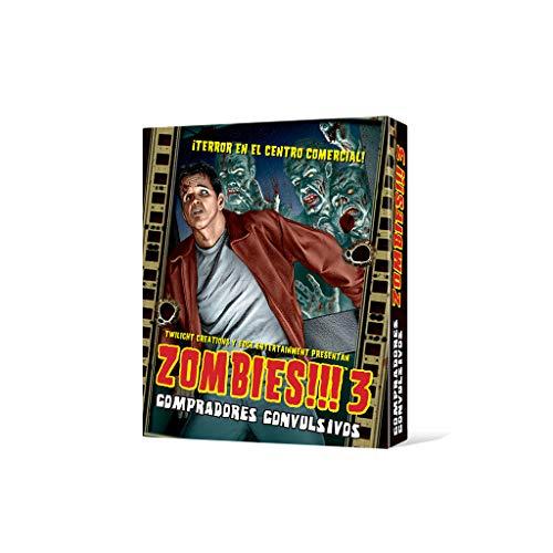 Edge Entertainment-Zombies 3: Compradores Convulsivos (Asmodee, EDGTC03)