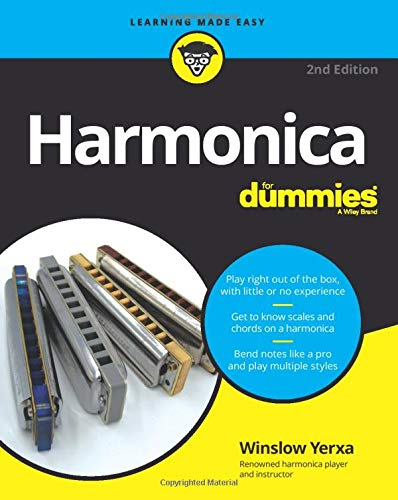 Harmonica For Dummies, 2nd Edition (For Dummies (Music))