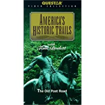 America's Historic Trails: Old Post Road [VHS]