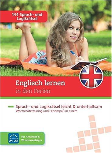 Sprachrätselblock Englisch lernen in den Ferien