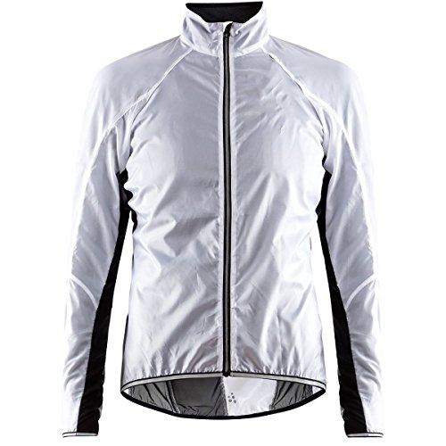 Craft Damen Lithe JKT W Windjacke, White/Black, S