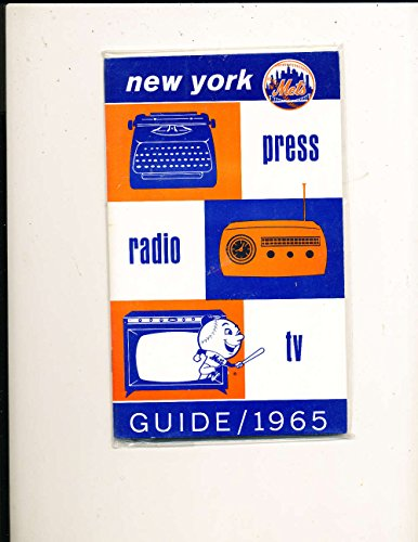 1965 New York Mets Press Guide