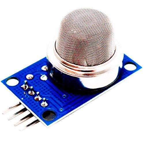 AZDelivery MQ-135 MQ135 Air Quality Gas Smoke Detection Sensor Module Compatible with Arduino and Raspberry Pi, Including E-Book!