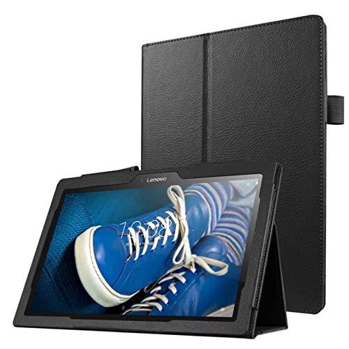 Lobwerk Tasche für Lenovo Tab 3 10 Business A10-70F TB3-X70 (F/L) Plus 10.1 Zoll Schutz Hülle Flip Tablet Cover Case (Schwarz) NEU