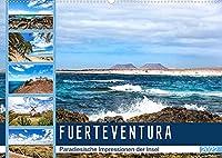 FUERTEVENTURA Paradiesische Impressionen der Insel (Wandkalender 2022 DIN A2 quer): Beeindruckende Facetten einer traumhaften Insel (Monatskalender, 14 Seiten )