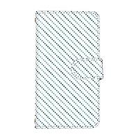 スマ通 LG it LGV36 国内生産 カード スマホケース 手帳型 LG エルジー エルジー イット 【3-パターン3】 斜めマルチストライプ2 q0004-s0120