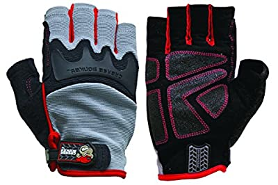 Big Time Products Grease Monkey Pro Fingerless Gloves
