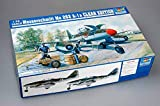 Trumpeter 02261 - Modellino di Aereo, Messerschmitt Me 262 A-1a, da Costruire