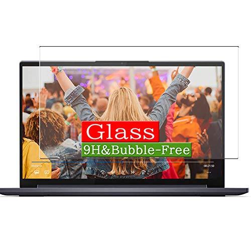 VacFun Vidrio Templado Protector de Pantalla Compatible con Lenovo Yoga Slim 750 14 14' Visible Area, 9H Cristal Screen Protector(cobertura no completa)