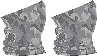 Tejido transpirable Hombre//Mujer Neckwarmer Arctic Camuflaje 100/% Poli/éster Microfibra 2 x Camuflaje Braga de Cuello T/érmica Unisex