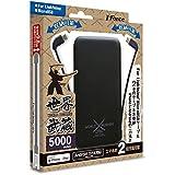 J-Force 2タイプケーブル収納モバイルバッテリー「世界武蔵」 5000mAh ライトニング&マイクロUSB(ブラック) JF-PEACE10LMK
