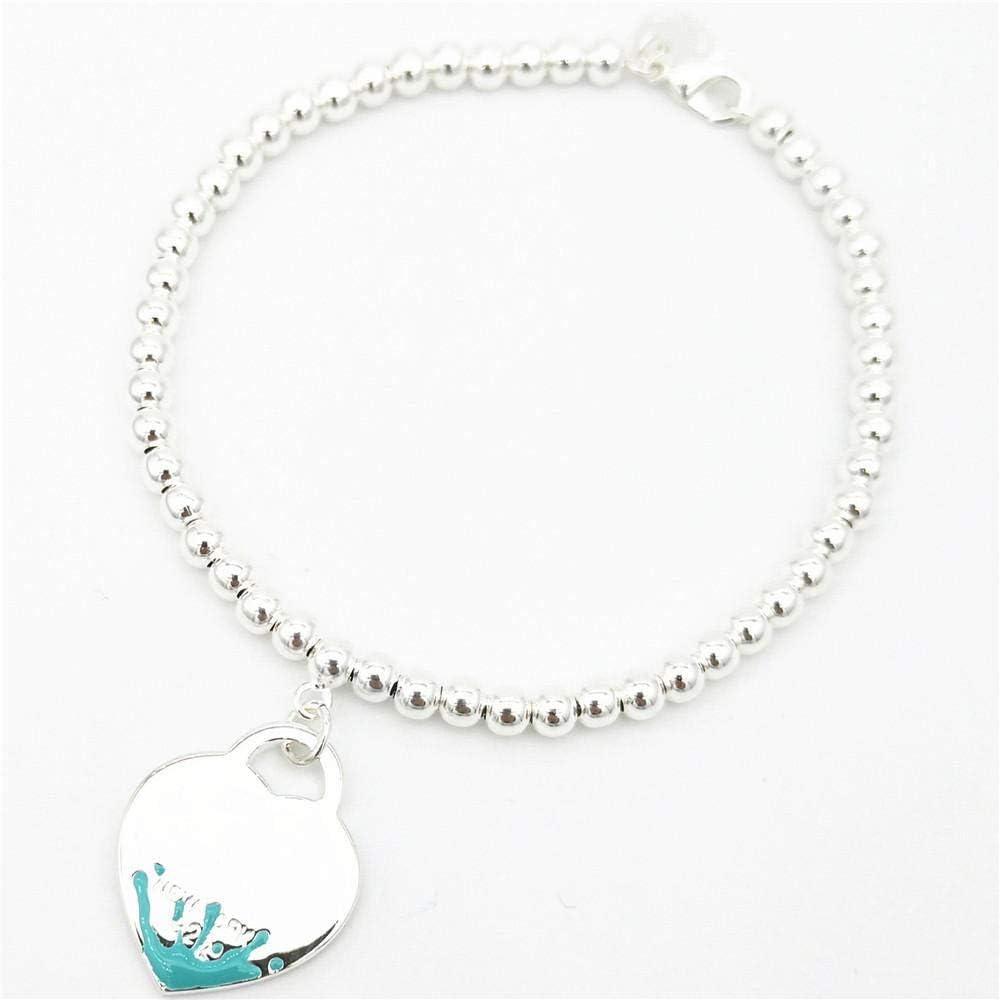 LIU HAI BING Bracelets Regular Ranking TOP17 store Classic Lady S Sterling S925 Silver Heart