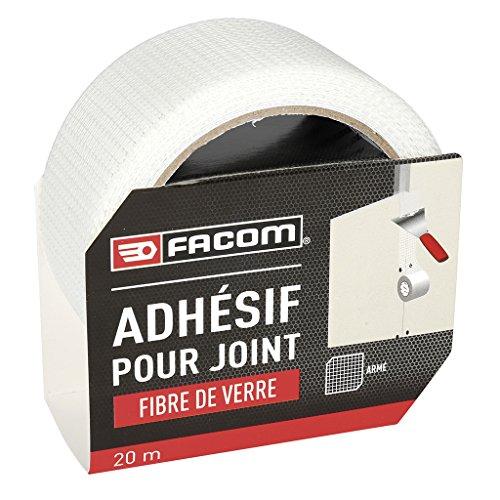 Facom Bettcomfort 84321Klebeband für Dichtung Fiberglas 20m x 48mm, grau