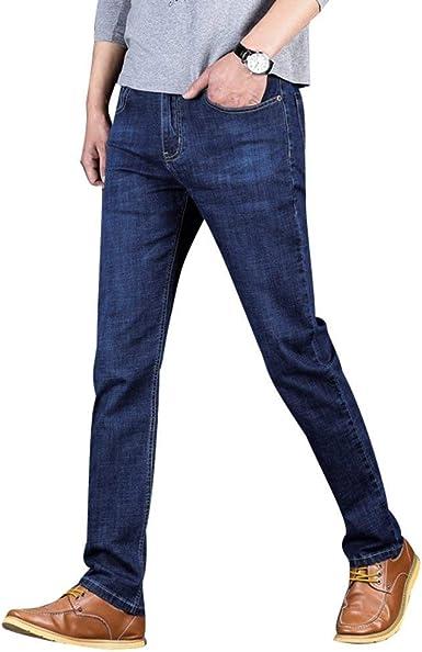 Targogo Jeans De Negocios Para Hombres Ssig Estiramiento Slim Fit Pantalones Rectos Pantalones De Los Hombres Retros Slim Jeans Pantalones Hombres Amazon Es Ropa Y Accesorios