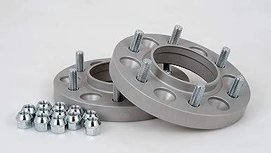 Certificazione T/ÜV Distanziali in alluminio 4 pezzi incl 30 mm per disco//60 mm per asse