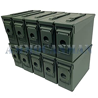 Ammo Can Man, LLC New 30 Cal Ammo Can - Blank (Single)