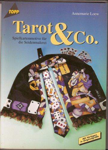 Tarot und Co. Spielkartenmotive für die Seidenmalerei.
