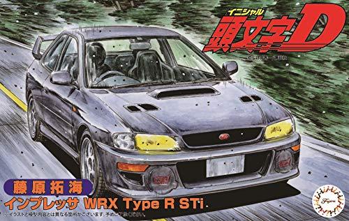 Fujimi Model 1/24 Initial D Series No.18 Impreza WRX Typer Sti Fujiwara Takumi Plastic ISD18