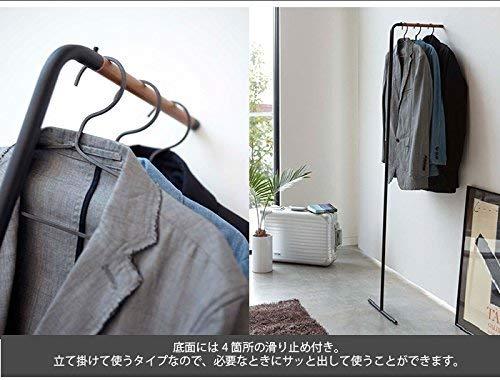 山崎実業『スリムコートハンガータワー』