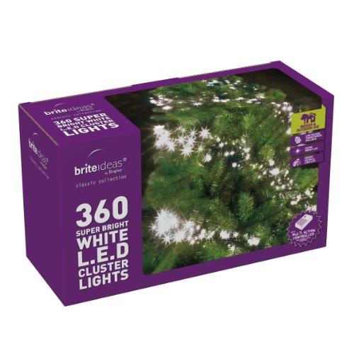 Brite Ideas Festive Productions 360 lumières LED – Blanc chaud