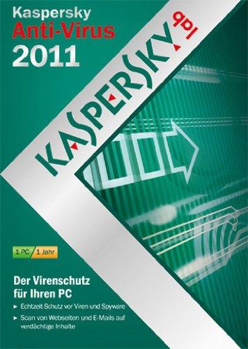 Kaspersky Anti-Virus 2011 (DVD-Box / kostenlose Upgrademöglichkeit auf die aktuelle Version) [import allemand]