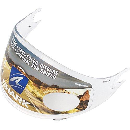 Shark Visier für Vision-R, klar, mit Pins/Max Vision