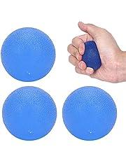 Kleine handoefenballen Handbal Fitness Vingertrainer Verbetert kracht Voorkomt stijfheid(blue)