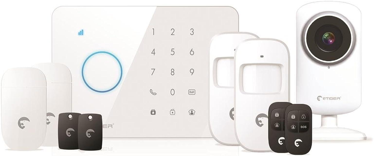 eTiger S3B SIM SECUAL Sistema de alarma para GSM con cámara IP HD