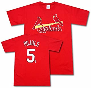 MLB St. Louis Cardinals Albert Pujols Name & Number Tee Infant/Toddler Boys'