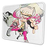Wanhuzyo Splatoon Pearl Mouse Pad Customized Rectangle Non-Slip Rubber Cute Desk Decor Mousepad Gaming Mouse Pad 7 X 8.6 in for Home and Office Work
