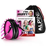 Alpine Muffy Ear Defender Kids - Hearing Protection for Children and Toddlers - Earmuffs to prevent hearing damage and reduce noise - Robust and easy to store - Comfortable fit - Pink