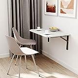 100x40 | Wandklapptisch mit abgerundete Ecken Klapptisch Wandtisch Küchentisch Schreibtisch Kindertisch | HELLGRAU