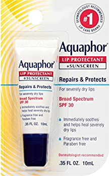 Aquaphor Lip Protectant and Sunscreen Ointment Chapped Lips, .35 fl. Oz