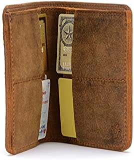 Large Leather Bifold Wallet For Men RFID-Shielded Includes 100 Year Warranty